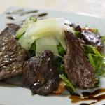 Салат с телятиной и рукколой
